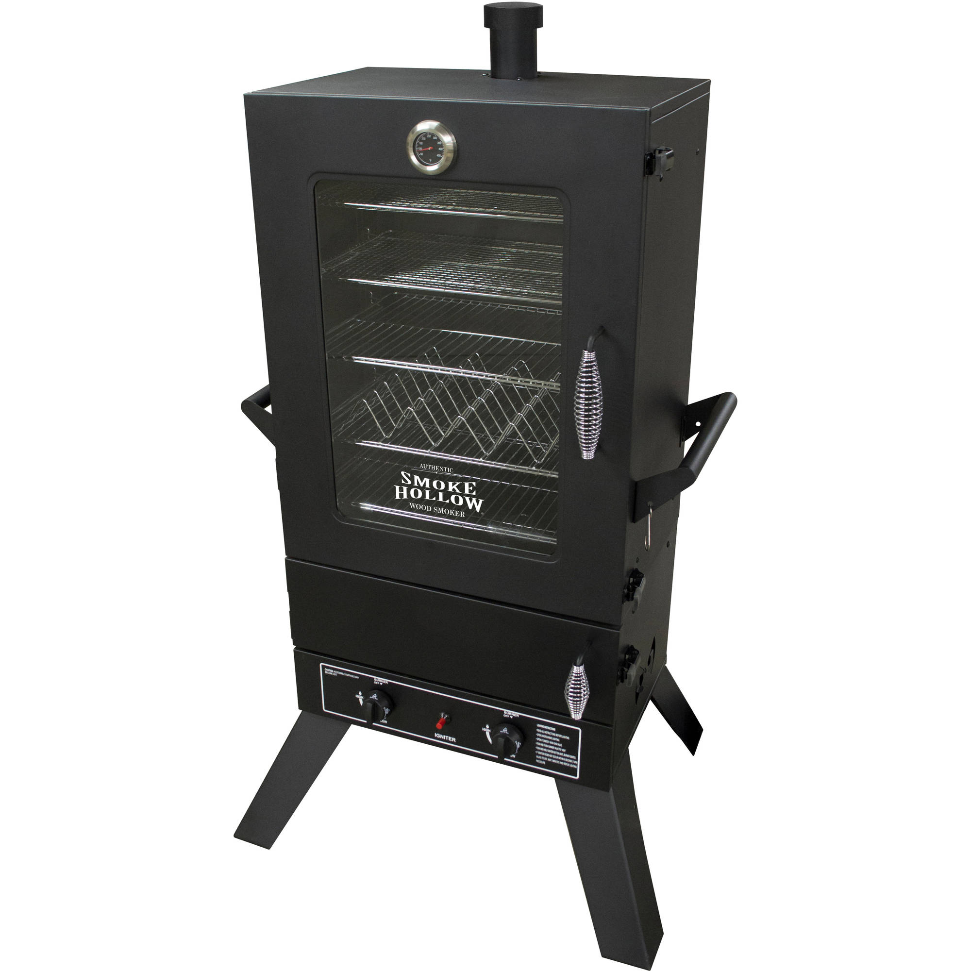 "Smoke Hollow 44"" LP Gas Smoker with Window"