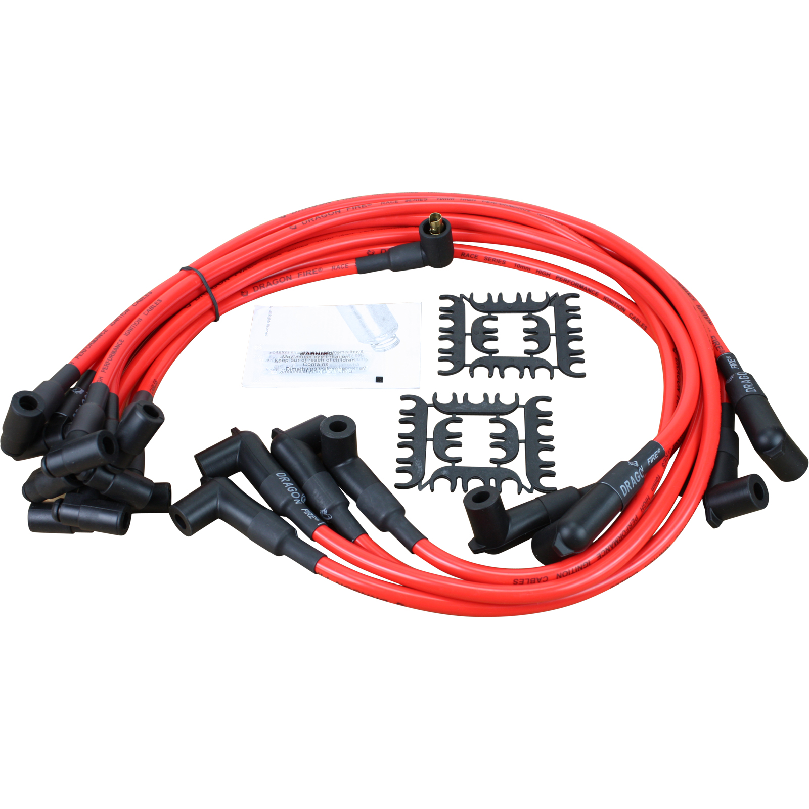 High Performance Spark Plug Wire Set Fit For SBC BBC HEI 350 383 454 10.5MM