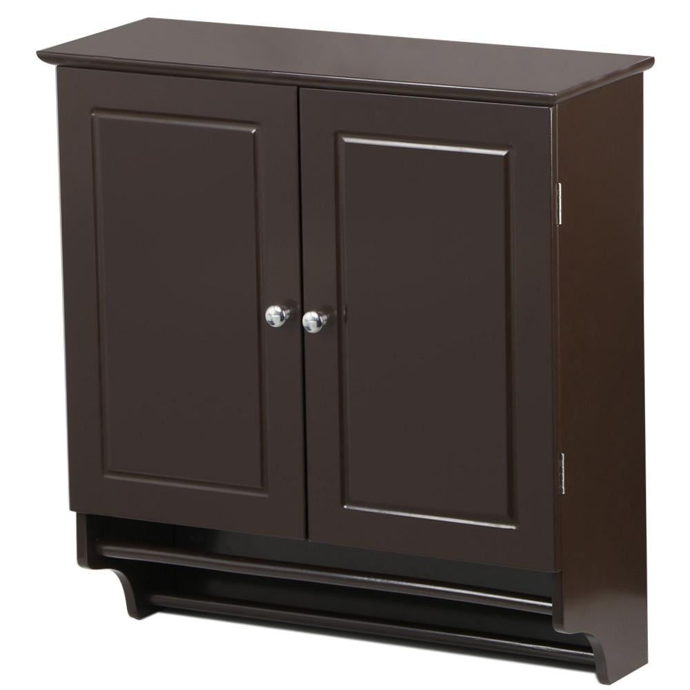 yaheetech bathroom kitchen wall mounted cabinet 18248