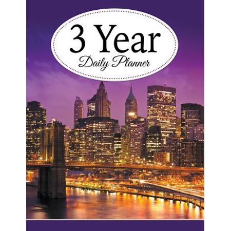 3 Year Daily Planner -