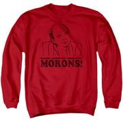 Princess Bride Morons Mens Crewneck Sweatshirt