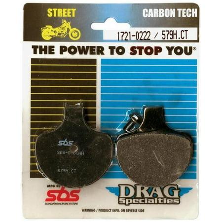 SBS 668H.CT Carbon Tech High Performance Brake (High Performance Carbon)