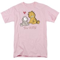 GARFIELD/TOO CUTE - S/S ADULT 18/1 - PINK - 2X
