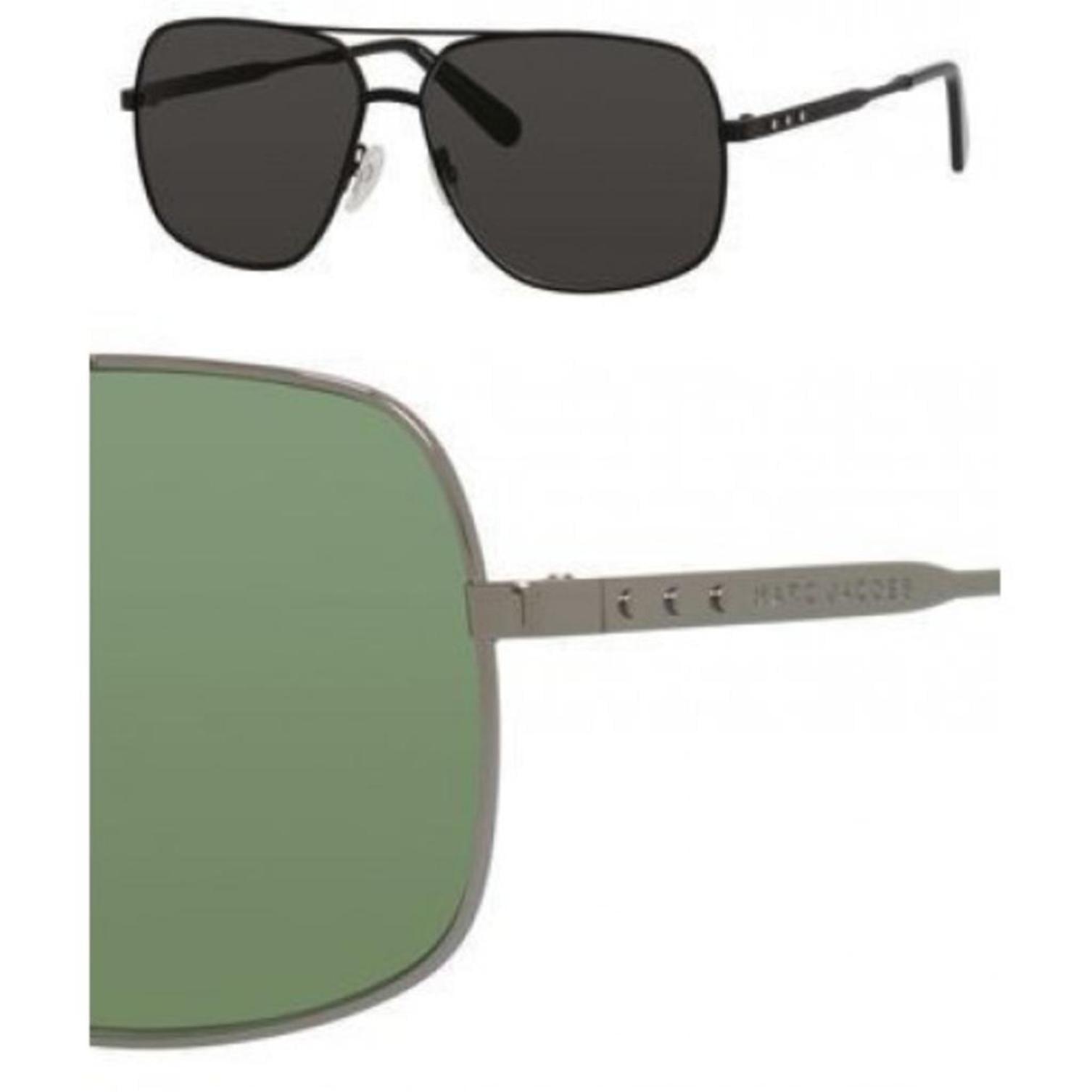 Sunglasses Marc Jacobs 594 /S 06LB Ruthenium / DJ green lens