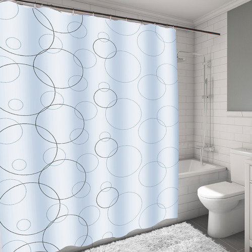 Carnation Home Fashions Ava Shower Curtain