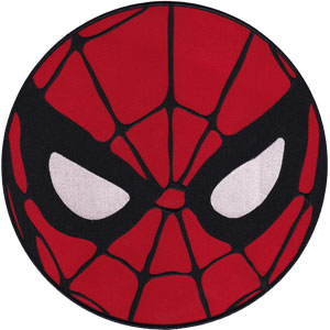 """Spiderman Mask - Marvel Comics Embroidered Artwork Iron On Patches, 7.25"""" Patch"""