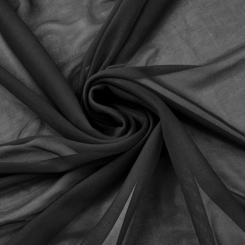 "5 yards 120"" Wide Sheer Voile Chiffon Fabric By Yard Draping Panel Wedding Dress"""