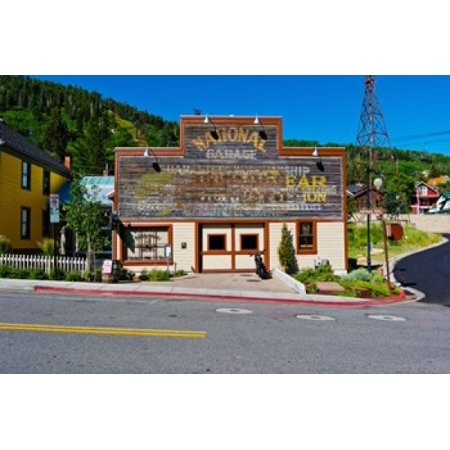 Facade of the High West Distillery Building Park City Utah USA Canvas Art - Panoramic Images (36 x 24)
