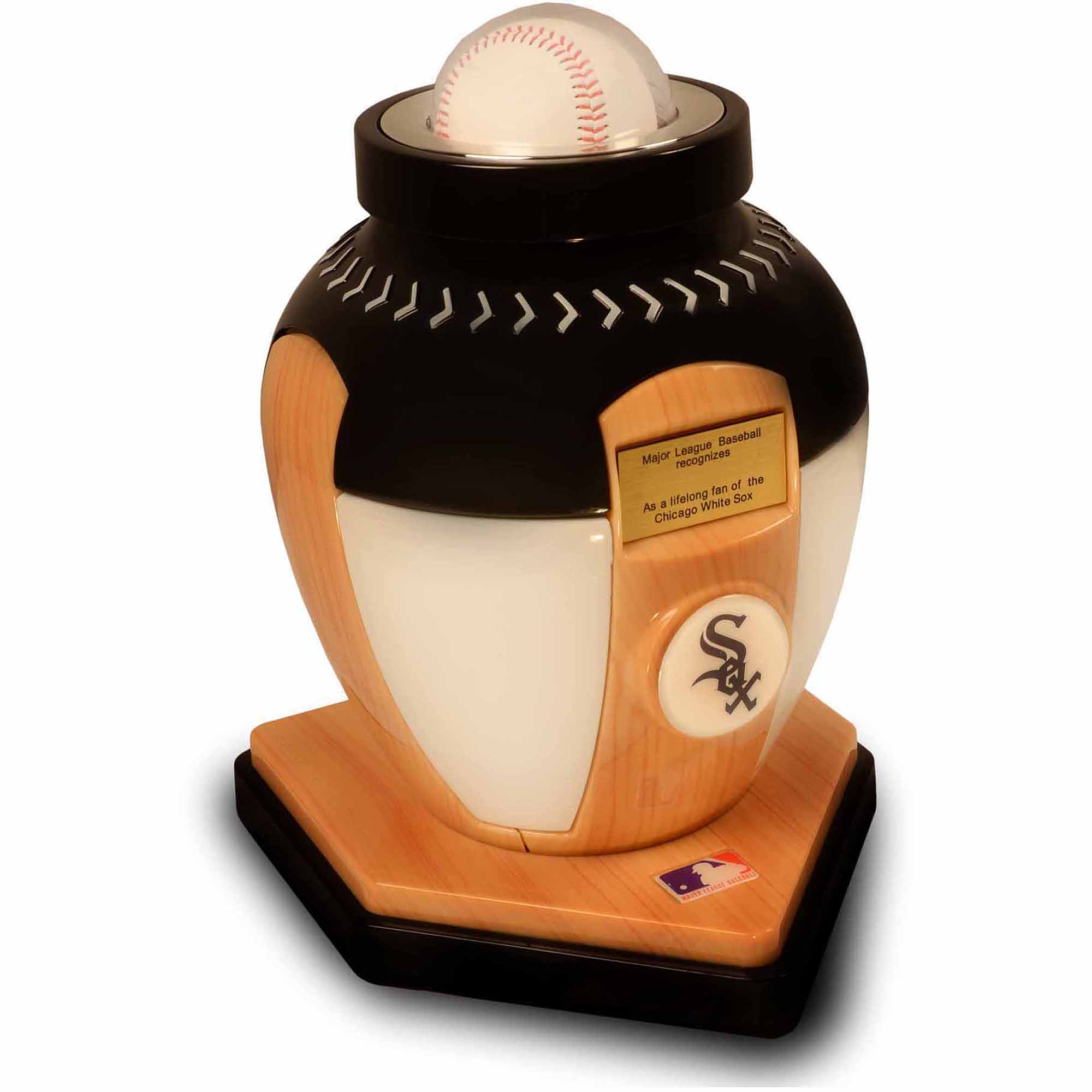 official major league baseball cremation urn for human ashes