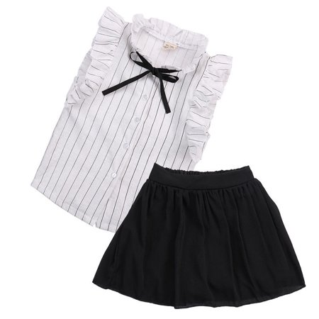 d6161137b Hirigin - 2pcs Toddler Kids Baby Girls Outfits T Shirt Tops+Shorts  DressGirls Summer Clothes Set 2pcs Set - Walmart.com