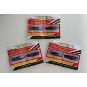 Yellow Off Trim and Plastic Restoration Wipes for Exterior High Shine 3 Pack
