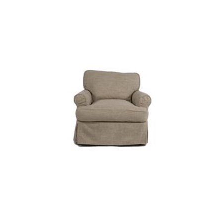 Sunset Trading Horizon Chair - Slip Cover Set Only - Linen