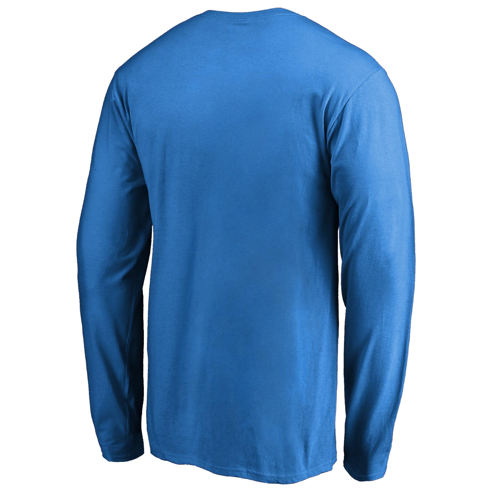 f054abc653a Detroit Lions NFL Pro Line by Fanatics Branded Vintage Collection Victory  Arch Long Sleeve T-Shirt - Blue - Walmart.com