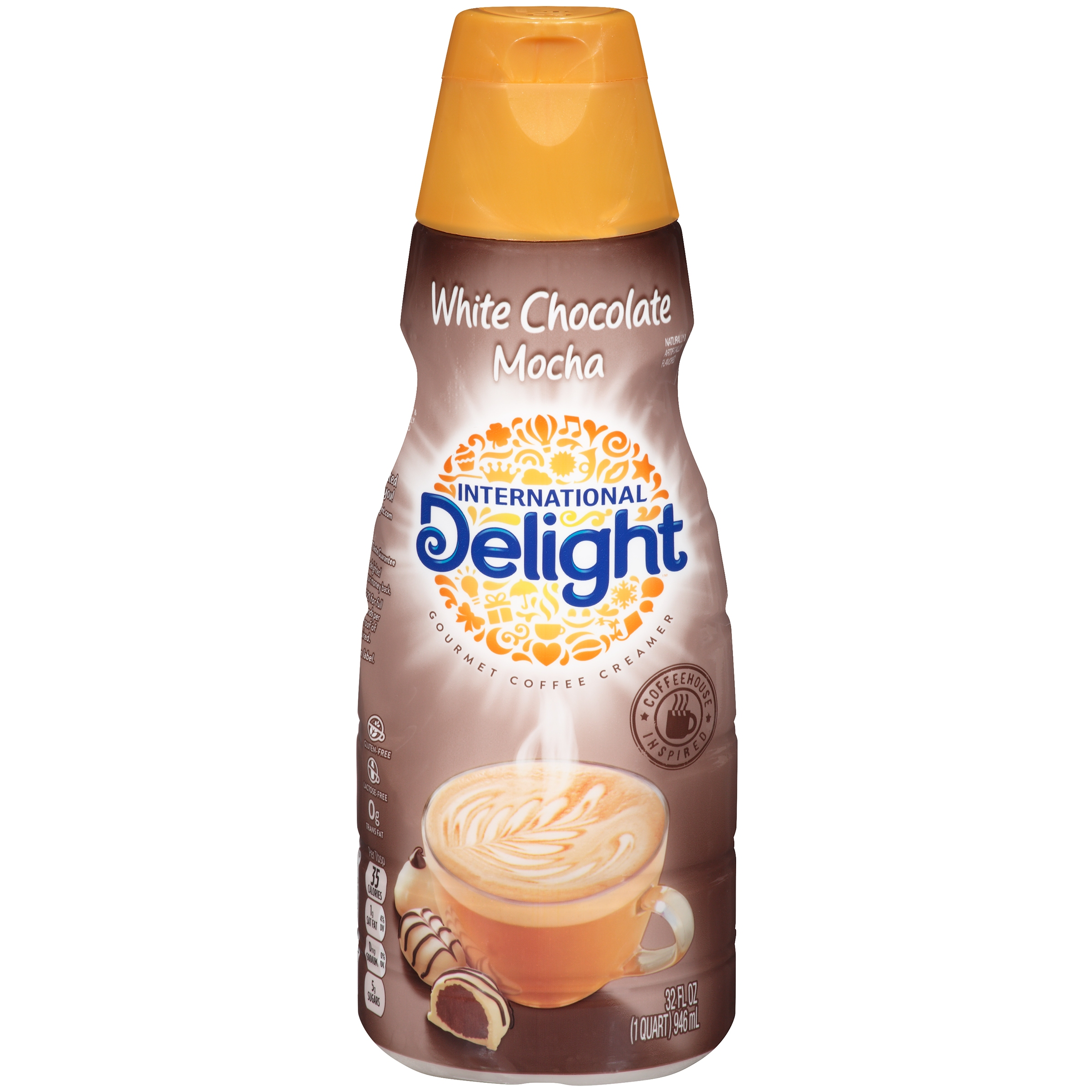 International Delight White Chocolate Mocha Coffee Creamer, Quart ...