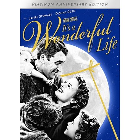 It's A Wonderful Life (Platinum Anniversary Edition) (Dvd) by Frank Capra; James Stewart; Donna Reed