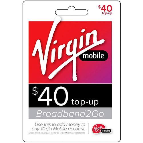 (Email Delivery) Virgin Mobile Broadband2Go $40 Topup