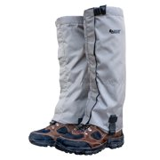 Snow Gaiters - Winter Gaiters - Mountain Gaiters - Water Resistant and Fleece Lined Snow Boot Gaiters - SHIPS FREE!