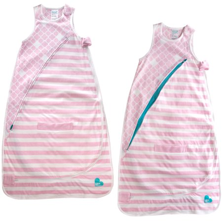 Loved To Dream 2 Pack Baby Sleeping Bag Cotton Swaddle For Babies Wearable