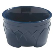 Carlisle Dinex Insulated Bowl, 9 oz., Urethane Foam Midnight Blue PK48, DX530050