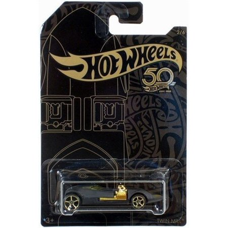 (Hot Wheels Black & Gold Twin Mill Die-Cast Car)