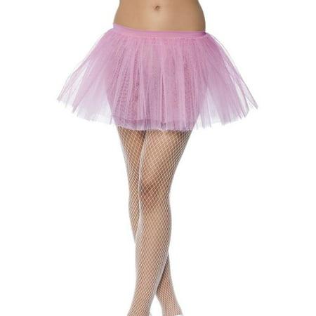 Tutu Pink Adult Costume Underskirt One Size - Adult Plus Size Tutu