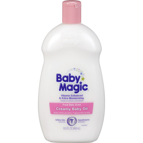 Baby Magic Creamy Baby Oil, 16.5 fl oz