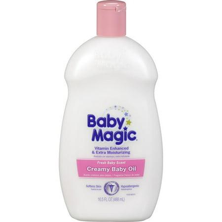 Baby Magic Creamy huile pour bébé, 16,5 fl oz