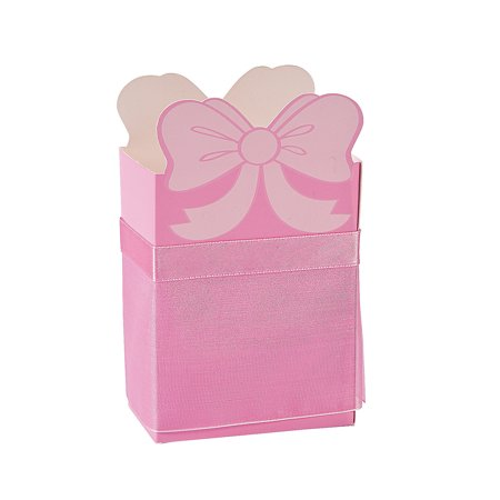 Fun Express - Ballerina Favor Boxes for Birthday - Party Supplies - Containers & Boxes - Paper Boxes - Birthday - 12 Pieces