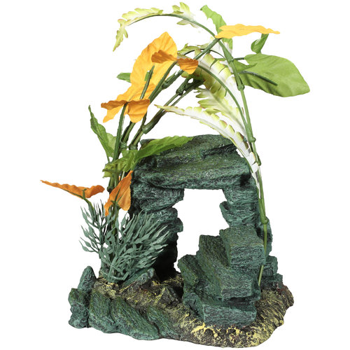 Aqua Culture Medium Rock Aquarium Ornament
