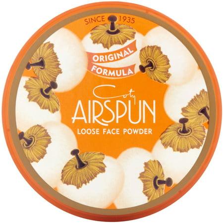 Coty Powder (Coty AirSpun Loose Face Powder 070-24 Translucent, 2.3 oz (Pack of 2) )