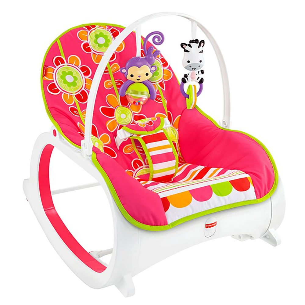 Fisher Price Infant-To-Toddler Rocker, Floral Confetti
