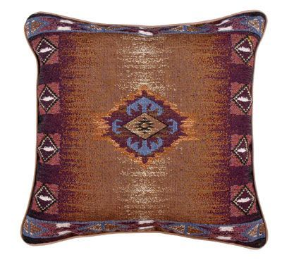 "Southwest Decorative Accent Decorative Throw Pillow 17"" x 17"