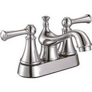 Sonoma Bathroom Faucet 2 Lever Handle Lead Free Chrome