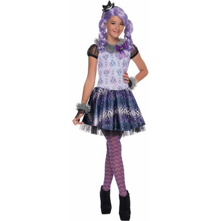 monster high kitty cheshire girls dress halloween costume - Halloween Costume Monster