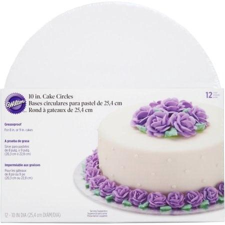 Wilton Cake Board/Platter, Circle, 10