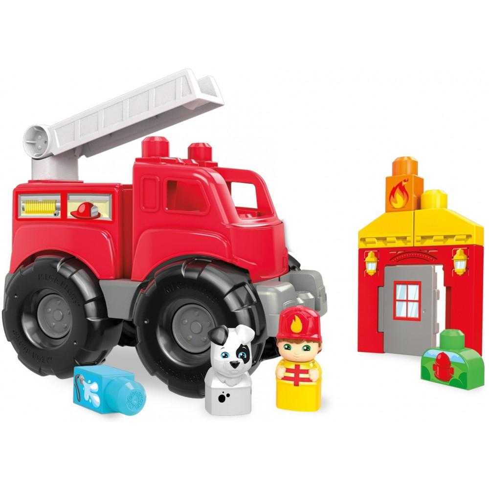 Mega Bloks Fire Truck Rescue Building Set by Mega Bloks