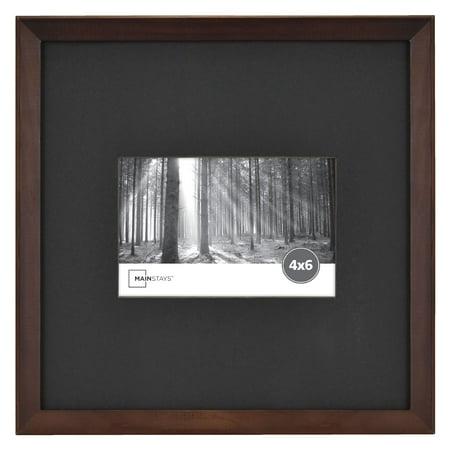 Mainstays Cherry Stain 4x6 Frame