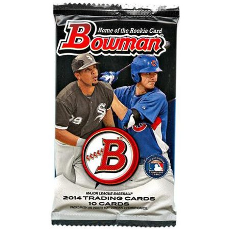 Mlb 2014 Bowman Baseball Cards Trading Card Pack Retail Edition