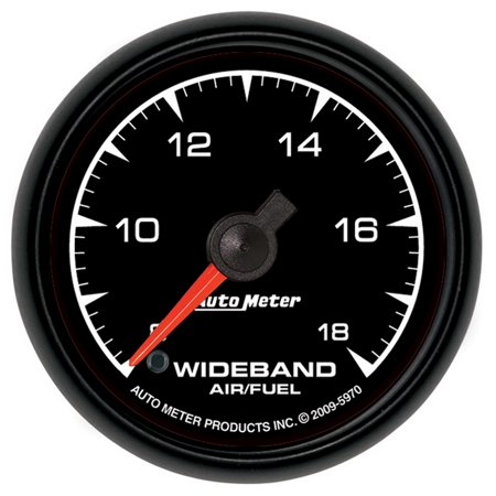 AutoMeter 5970 ES Wideband Air Fuel Ratio - Autometer Air Fuel Ratio Gauge
