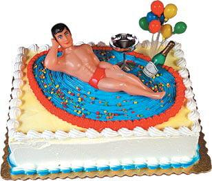 Macho Man Cake Kit Cake Adorments 1 kit Walmartcom