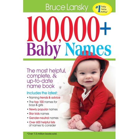 100,000 + Baby Names : The most helpful, complete, & up-to-date name book](Good Halloween Baby Names)