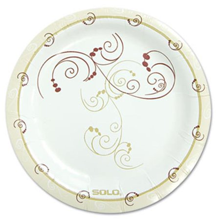 Alice In Wonderland Party Plates And Cups (Solo Cup MP6J8001PK Symphony Paper Dinnerware Medium Weight Plate, 6 in.)