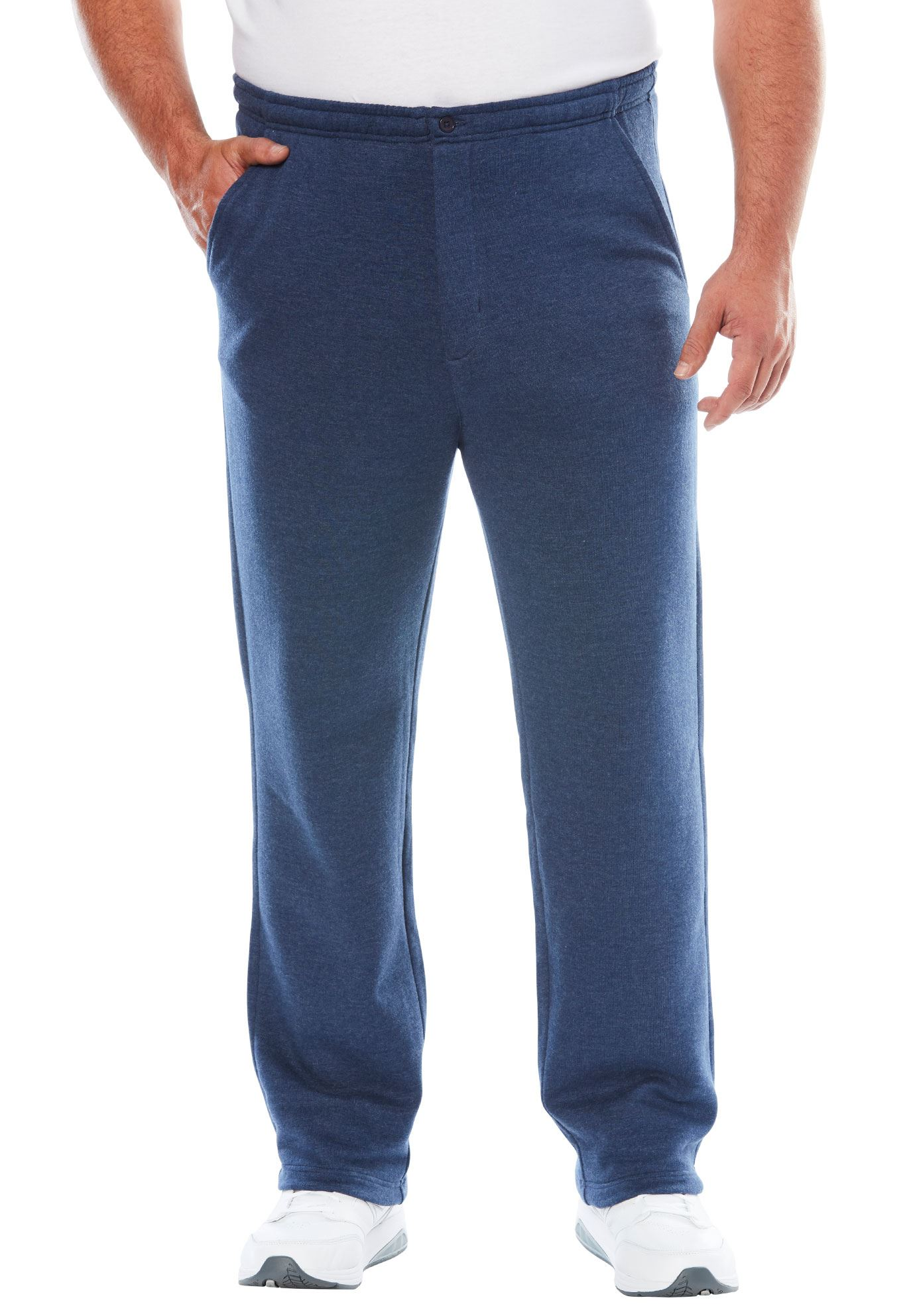 Men's Big & Tall Explorer Fleece Zipper Fly Pants