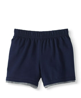 Baby Boy Jersey Hangdown Shorts