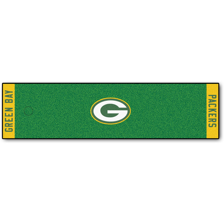 FanMats NFL Green Bay Packers Putting Green Mat