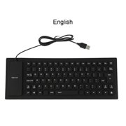 Portable USB Keyboard Flexible Water Resistant Silicone Mini Gaming Keyboard for Tablet Computer Laptop PC;USB Keyboard Flexible Water Resistant Silicone Gaming Computer PC Keyboard