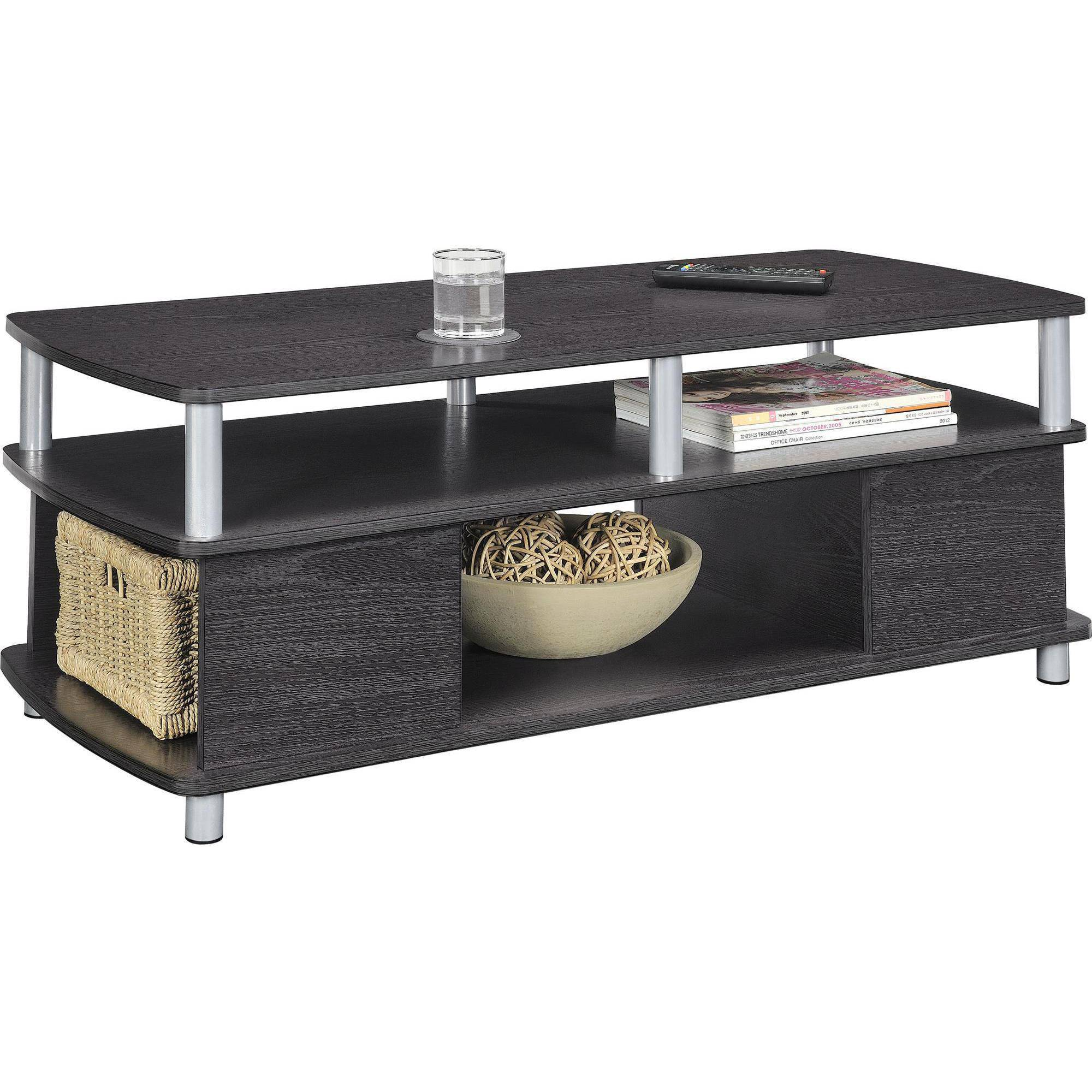 Modern Wood Coffee Table: Home Coffee Table Wood Living Room Furniture Modern Shelf