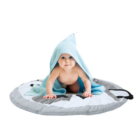 (Baby Kids Game Gym Activity Play Mat Soft Cotton Crawling Blanket Floor Rug)