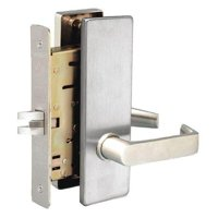 TOWNSTEEL MSE-01-S-626 Mortise Lockset, Lever, MS Sentinel, Ser. MS, Grd. 1,