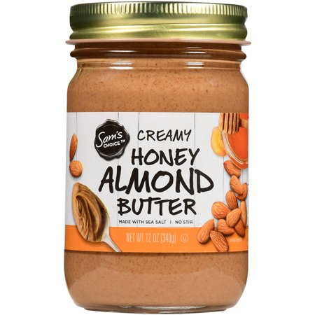 Sam's Choice Creamy Honey Almond Butter, 12 oz